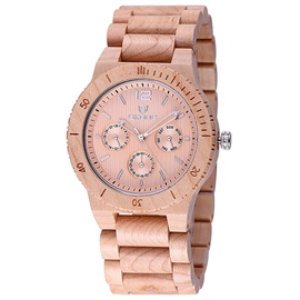 Ericdress Casual Men's Chronograph Wood Watch
