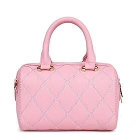 Ericdress Chic Solid Color Pillow Handbag