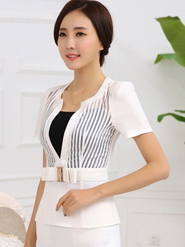 Ericdress OL Short Sleeve Blazer