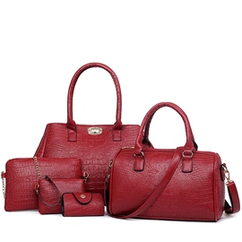 Ericdress Classic Alligator Pattern Handbags(5 Bags)