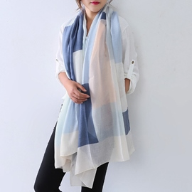 Ericdress Simple Geometric Square Scarf