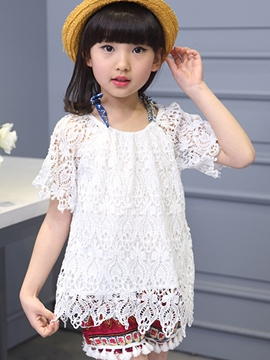Ericdress Lace Ethnic Girls Outfit