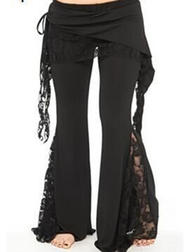 Ericdress Lace Patchwork Pants