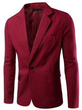 Ericdress Multi-Color Simple Casual Men's Blazer