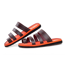 Ericdress Fashion Pu Cut Out Men's Sandals