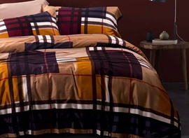 Ericdress Geometric Plaid Cotton Bedding Sets