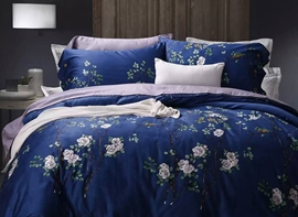 Ericdress Fragrant Flower Print Cotton Bedding Sets
