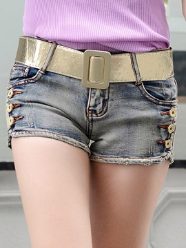Ericdress Simple Fashion Denim Shorts