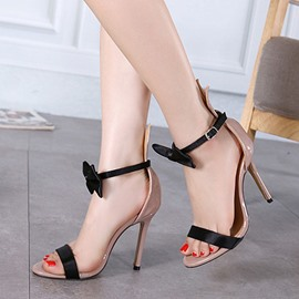 Ericdress Graceful Bowtie Stiletto Sandals