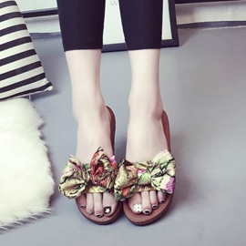 Ericdress Floral Print Beach Mules Shoes