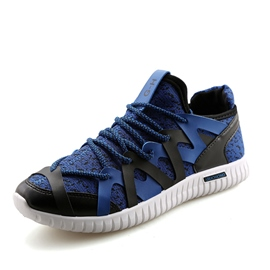 Ericdress Color Block Low-Cut Cross Strap Men's Athletic Shoes
