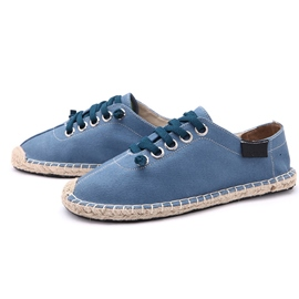 Ericdress Simple Linen Men's Canvas Shoes