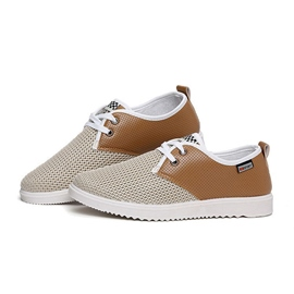 Ericdress Lace up Mesh Men's Casual Shoes