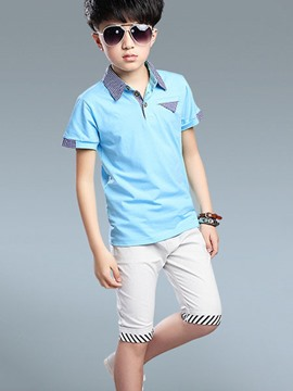 Ericdress Casual Boys Shorts Outfit