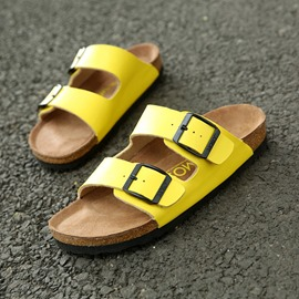 Ericdress Open Toe Flat Heel Buckle Slip-On Men's Sandals