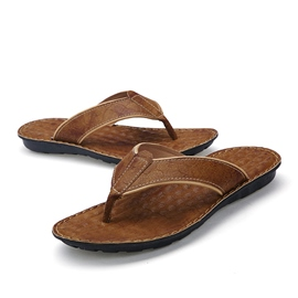 Ericdress Summer Thong Men's Beach Sandals