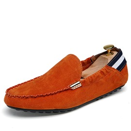 Ericdress Round Toe Slip-On Flat Low Heel Men's Loafers