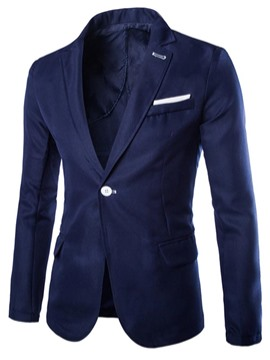 Ericdress Solid Color Vogue Men's Blazer