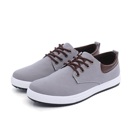 Ericdress Fashion Solid Color Men's Canvas Shoes