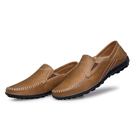 Ericdress Breathable PU Thread Men's Casual Shoes