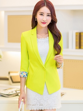 Ericrdess Elegant Simple Blazer