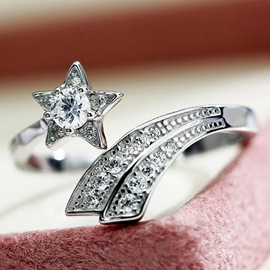 Only Beautiful Gem Ring of Star