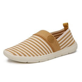 Ericdress Striped Round Toe Slip-On Loafers