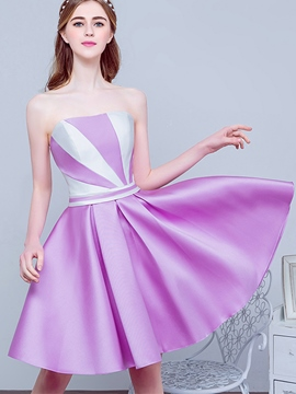 Ericdress A-Line Sweetheart Pleats Short Homecoming Dress