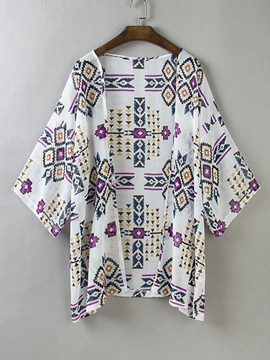 Ericdress Simple Print Sun Protective Cape