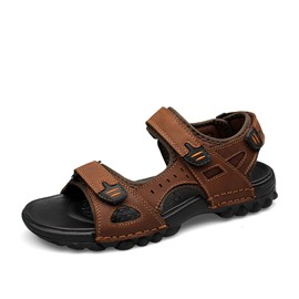Ericdress Open Toe Velcro Buckle Slingback Strap Men's Sandals