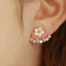 Delicate Small Flowers Earrings