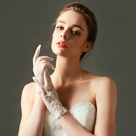 Ericdress Beautiful Appliques Short Wedding Gloves