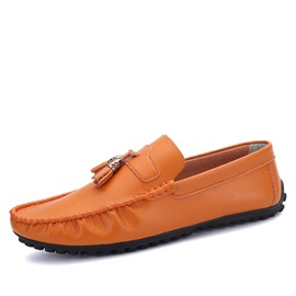 Ericdress Slip-On Flat Heel Square Toe Tassel Men's Loafers