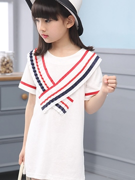 Ericdress Short Sleeve Girls T-Shirt