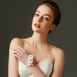 Ericdress Fancy Short Bridal Gloves
