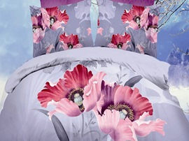 Ericdress Beautiful Flower Queen Print 3D Bedding Sets