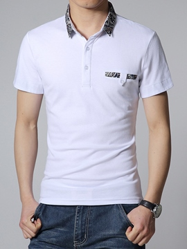 Ericdress Regular Simple Casual Men's T-Shirt