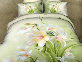 Ericdress Sunshine Flower Print 3D Bedding Sets