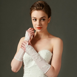 Ericdress Simple, gants de mariée Long