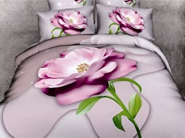 Ericdress Beauty Flower Print 3D Bedding Sets