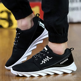 Ericdress Popular Mesh Lace up Men's Athletic Shoes