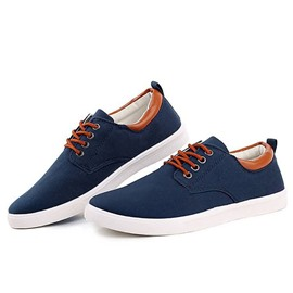 Ericdress Spring Lace up Men's Canvas Shoes