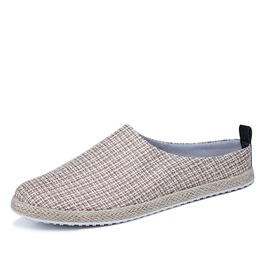 Ericdress Linen Men's Slip on Loafers