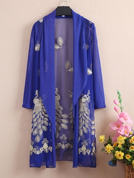 Ericdress Elegant Embroidery Sun Protective Clothing