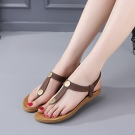 Ericdress Comfortable Antiskid Thong Flat Sandals