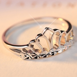 Ericdress Crown Shaped Design Women Ring