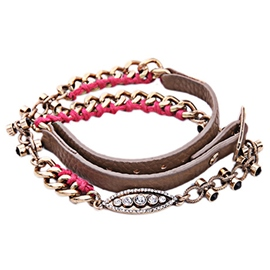 Vintage Leather Braided Bracelet
