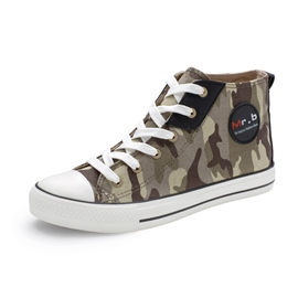 Ericdress Camouflage Lace up Men's Canvas Shoes