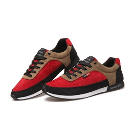 Ericdress Trendy Color Block Flat Low Heel Men's Sneakers