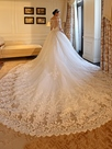 Ericdress Luxury Off The Shoulder Wedding Dress With Sleeves